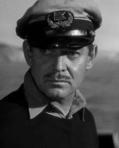 "Clark Gable en ""Aventura"" (Adventure), 1945"