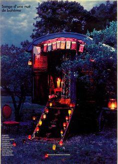 Romantic gypsy living