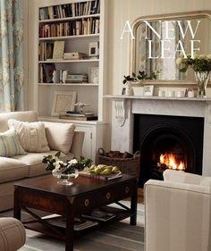 Laura Ashley fireplace Country Cottage Living Room, Home Living Room, Living Room Decor, Laura Ashley Living Room, Karim Rashid, Interior Exterior, Interior Design, Interior Paint, Style Anglais