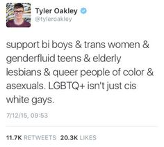 asexual people are not LGBT because of their aceness. http://40212.tumblr.com/post/149275481193/discourse-walkthrough-20