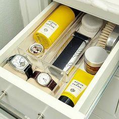 Bathroom organization - man drawer