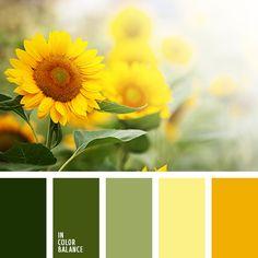 """""""пыльный"""" зеленый, болотные оттенки зеленого, оранжевый, оттенки зеленого, пыльные оттенки зеленого, салатовый, тёмно-зелёный, цвет зелени, цвет листьев, яркий желтый, яркий оранжевый."""