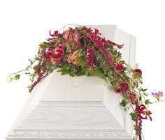 Blomster ved bisættelse i kirke/kapel - Priser på begravelse
