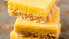 Lemon Healthy Protein Bars | The Sweeter Life Club