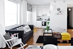 living- dining room..