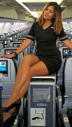 Great Legs, Nice Legs, Flight Attendant Hot, Airline Attendant, Women Legs, Sexy Women, Air Hostess Uniform, Flight Girls, Women With Beautiful Legs