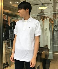 LACOSTE 【LACOSTE】ラコステ POLO SHIRTS ポロシャツ