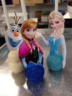 Disney Frozen cakepops