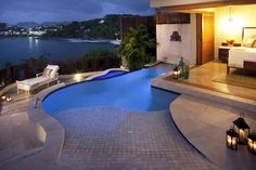 Private pool in Millionaire Suite at Sandals La Toc Golf Resort & Spa! | Sandals Resorts | St. Lucia