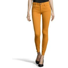 Earnest Sewn Amber stretch cotton blend denim 'Esra' skinny jeans (€36) ❤ liked on Polyvore featuring jeans, amber, white denim jeans, lightweight jeans, white jeans, white skinny leg jeans and mid rise skinny jeans