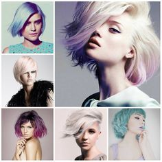 Dip Dye hair - purple tips - marie claire australia. We love how the the violet hair is so delicately punk rock. The look is so prim and proper except for her violet shade. Pastel Hair, Purple Hair, Purple Ombre, Purple Tips, Pastel Purple, Purple Bob, Pastel Blonde, White Blonde, Pastel Bob