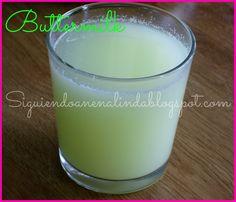 Siguiendo a Nenalinda: Como hacer Buttermilk o suero de leche en casa paso a paso....