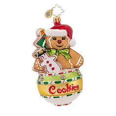 Christopher Radko Cookie Jar Jams Ornament