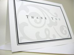 Thank You Card or Personalized Custom Note Card by essentialimages