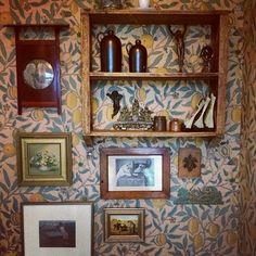 Wallpaper William Morris  Villavägen 3