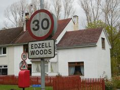 Former base housing for RAF Edzell is now Edzell Woods. May 2015