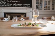 """See 4 photos and 5 tips from 82 visitors to Restaurant Nachtjäger. """"Extraordinary food on a wow level - prices too fair to be true in ZH! Zurich, White Wine, Alcoholic Drinks, Restaurant, Glass, Food, Drinkware, Alcoholic Beverages, Corning Glass"""