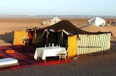 Morocco Day Travel offers different types of opportunities, Berber tents are the most requested. Whether in the heart of the Sahara or near our hotel, you will be able to live the life of a nomad, in a real tent designed for the desert.