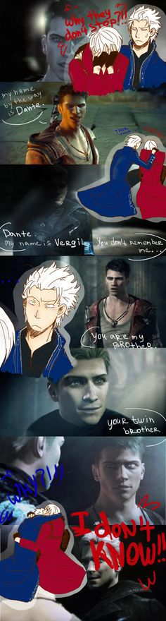 Vergil is upset, as all the rest of us...