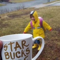 Rainy day. #morningcup #momlife #preschoollife #preschooler #momblogger #mnblogger #coffeeaddict #coffee #TheMadMommy by irkedmommy