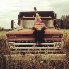 You CAN combine boudoir and truck pictures! I'd be in the white button up, on my KING Ranch F150 <3 love that idea