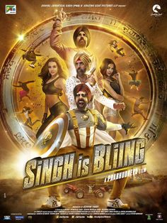 Singh Is Bling (SIB) Bollywood Hindi Movie Official Trailer Video Out. Watch Akshay Kumar and Amy Jackson Teaser or Promo Video with New Poster Look of SIB.
