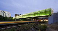 Jacques Ferrier Architecture, Luc Boegly · New Bridge in Choisy-le-Roi