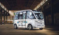 Ônibus sem motorista começa a circular na Suíça