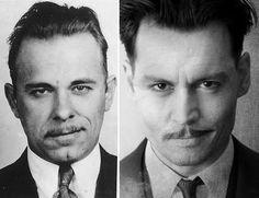 John Dillinger & Johnny Depp
