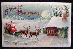 xmas postcards vintage - Bing Images