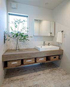 Bathroom Interior, Interior Design Living Room, Japanese Modern House, Washbasin Design, Japanese Bathroom, Zen House, Open Plan Kitchen Living Room, Restroom Design, Bathroom Design Inspiration