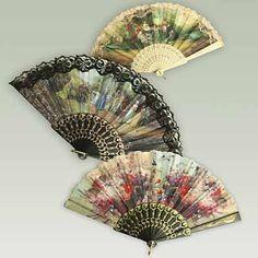 Victorian Hand Fans