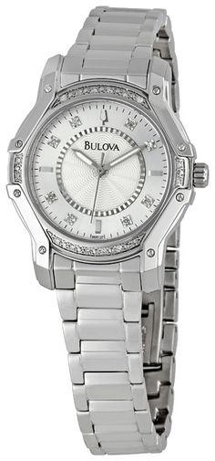 Bulova Casual Diamond Ladies Watch
