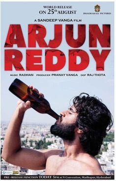 Kickass posters of Arjun Reddy