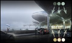 Making of Queen Alia Airport - 3D Architectural Visualization & Rendering Blog
