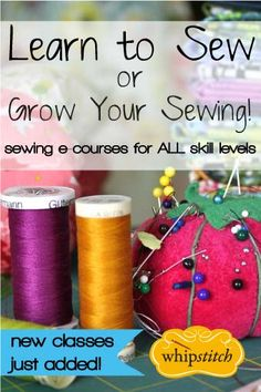 A handy reference for all the stitches your sewing machine is capable of and the potential uses for each.