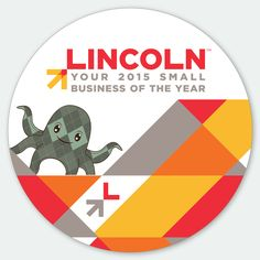 @ArgyleOctopus is proud to be Lincoln, Nebraska's 2015 Small Business of the Year!!!