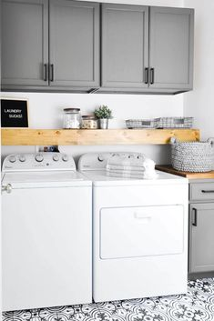 DIY Laundry Room Storage Shelves Ideas Laundry room decor Small laundry room organization Laundry closet ideas Laundry room storage Stackable washer dryer laundry room Small laundry room makeover A Budget Sink Load Clothes Laundry Room Remodel, Laundry Room Cabinets, Laundry Closet, Laundry Room Organization, Budget Organization, Diy Cabinets, Clothes Shelves, Laundry Room Shelves, Laundry Storage