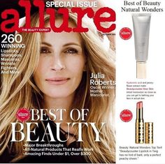 Thank you Allure for loving Beautycounter! Best of Beauty, October Issue! Check…