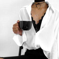 """Coffee break. 😋☕️ Wearing @wearekopolonia's """"soul maker choker."""" #wearekopolonia #soadorable #coffee"""