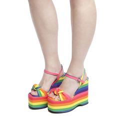 womens red or dead multi ruby rainbow sandals
