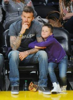 David Beckham's style