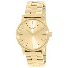 Nixon Women's Kensington Gold Quartz Watch with Gold Dial