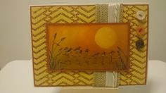 Clairey Fairy Crafts: Sunset Birds