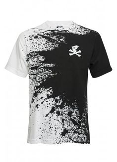 Famous Stars & Straps Cross Bone Splat T-Shirt