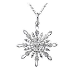 Winter Wonderland Snowflake Pendant