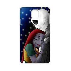 Hot-Custom-Case-Halloween-Nightmare-Before-Christmas-Jack-and-Sally-for-Samsung