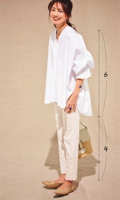Minimal Outfit, Minimal Fashion, Minimal Chic, White Shirt Outfits, Casual Outfits, Japanese Fashion, Korean Fashion, Japanese Style, Japan Fashion Casual