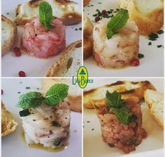 Et voilà: varietà di Tartare di pesce! Siamo qui: Via Procaccia 4 70043 Monopoli (Ba) +39 080 2462030  www.ristorantelidobianco.com https://twitter.com/lido_bianco https://instagram.com/ristorante_lidobianco https://plus.google.com/+LidoBianco ristorantelidobianco@gmail.com www.ristorantelidobianco.com