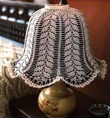 nice crochet lampshade design, free, with chart باترون كروشيه لشابوه اباجوره - Lampe Crochet, Crochet Lampshade, Lace Lampshade, Cover Lampshade, Lamp Cover, Crochet Diagram, Filet Crochet, Crochet Patterns, Thread Crochet
